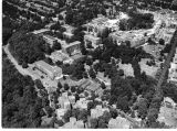 Aerial view of the National Bureau of Standards Washington, D.C. campus circa 1940s