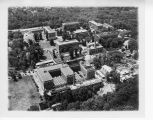 Aerial view of the National Bureau of Standards Washington, D.C. campus circa 1920s